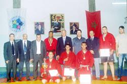 Sambo : six médailles d'or pour le Maroc