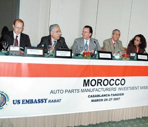 Automobile : le Maroc expose ses atouts