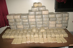 Arrestation d'une bande de trafiquants