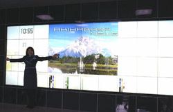 High-tech : La télé murale de Panasonic
