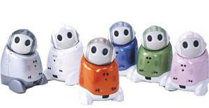 High-tech : PaPeRo, le robot qui vous suit partout