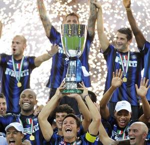 Supercoupe d'Italie : l'Inter Milan n'en finit plus de gagner