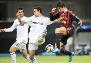 L'AC Milan et le Real Madrid se neutralisent