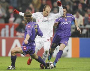 Le Bayern arrache la victoire face à la Fiorentina
