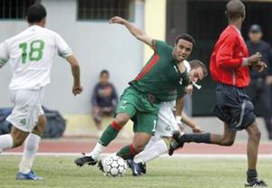 Les joueurs nationaux affrontent les Libyens