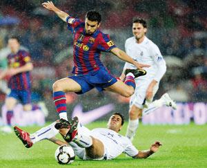 FC Barcelone : de la souffrance et un record