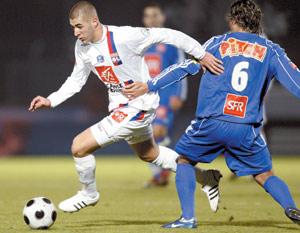 Lyon et Sochaux en 16ème, Toulouse chute