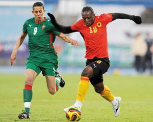 Le Maroc s'impose face à l'Angola