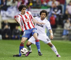 Championnat d'Espagne : Le Real Madrid ne craque pas dans le derby