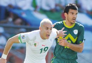 Algérie-Slovénie : la Slovénie gâche les retrouvailles de l'Algérie avec le Mondial