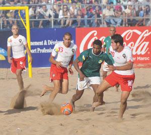 Coupe d'Afrique de beach soccer : L'équipe nationale bat son homologue libyenne