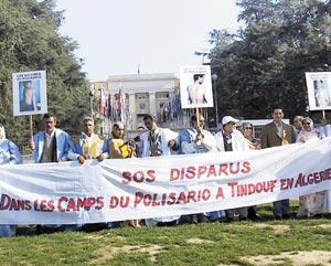 Appel à la libération des Sahraouis