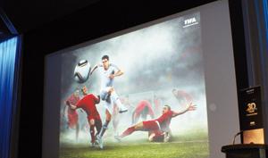 Diffusion des matches en 3D par la FIFA