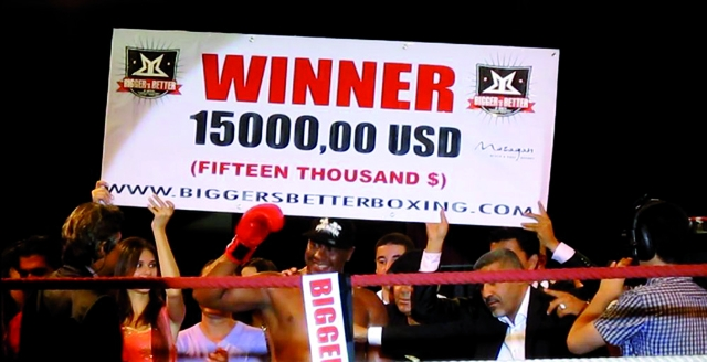 Boxe : Aurieng remporte la 14ème édition du «Bigger s Butter»