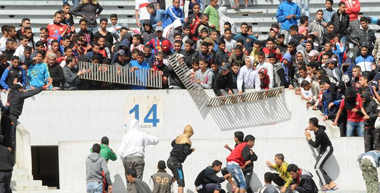 Interpellation de 75 personnes pour actes de vandalisme lors d'un match de football à Salé