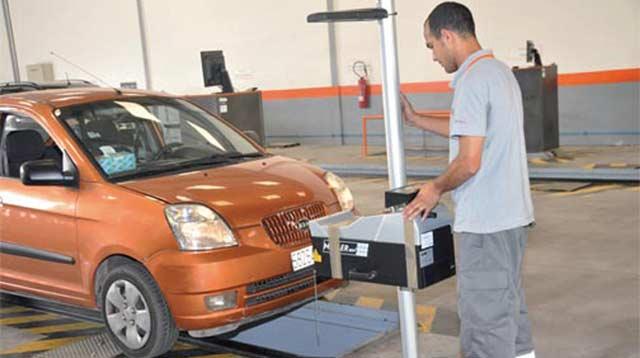حجز مواعيد الفحص التقني للسيارات khadamat.narsa.gov.ma