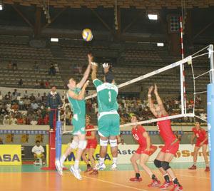 CAN-2011 du volley-ball : élimination prématurée de l'équipe nationale