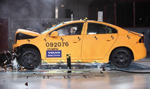 Volvo fête les dix ans de son centre de crash-tests