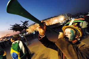 L'euphorie du Mondial 2010 entamée, le plaisir du jeu demeure
