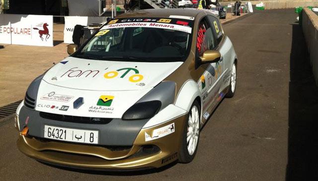 Trophée Wafa oTo : Les Clio Rs à Marrakech