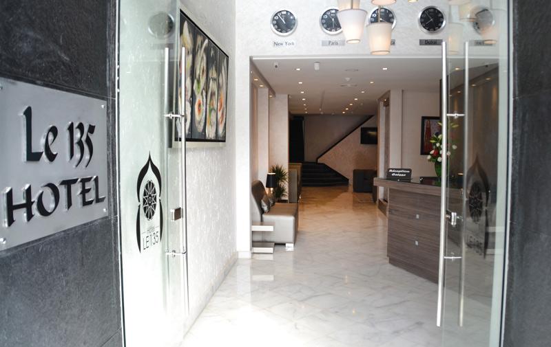 Hébergement touristique: Le 135 Hôtel ouvre à Casablanca