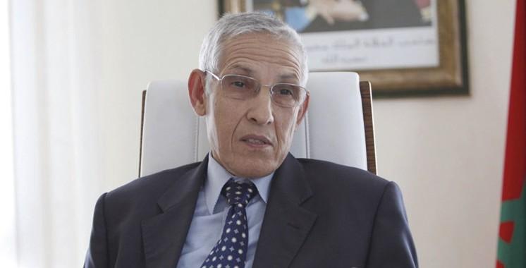 Daoudi lors d'une journée d'étude consacrée au chauffage: Les schistes comme solution ultime