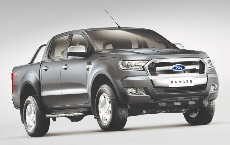 Ford Ranger: Born to work hard !