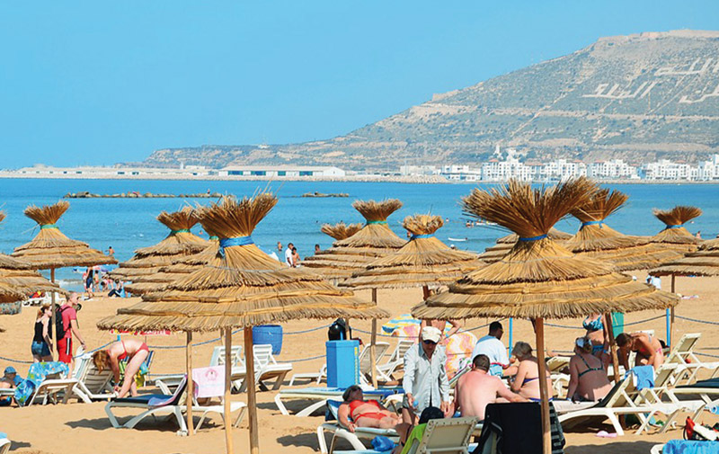 Tourisme: Agadir a cartonné en juillet
