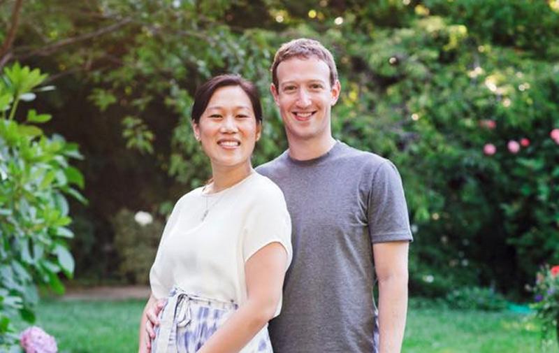 Mark Zuckerberg bientôt papa !