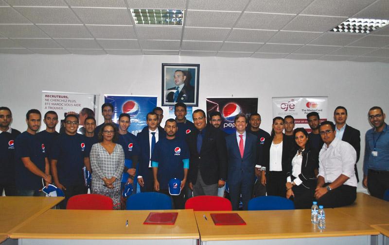 Entente entre la Fondation EFE-Maroc et  Varun Beverages Morocco-Pepsi