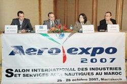 Événement : Marrakech s'ouvre à l'industrie Aéronautique