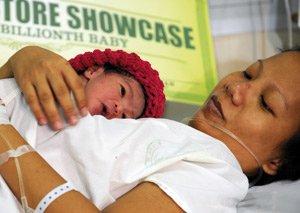 Une Philippine désignée sept milliardième être humain