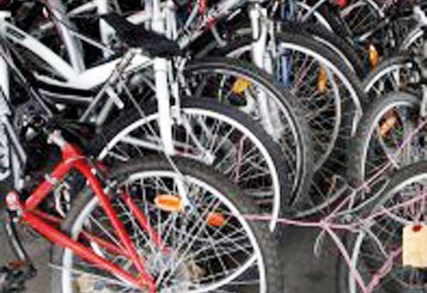 Arrêté pour vol d une trentaine de bicyclettes