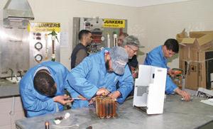 Des séances de sensibilisation chez Bosch Junkers