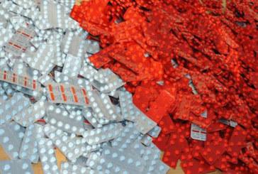 Fnideq : Saisie de près de 10.000 comprimés psychotropes