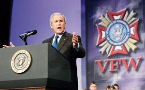 Bush admet «la défaillance du renseignement»