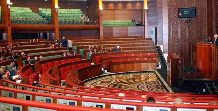 Chambre des conseillers Session extraordinaire consacrée au rapport  de la commission d'enquête sur la CMR