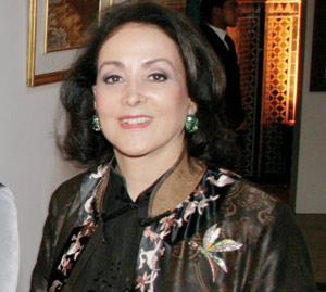 Laila Mezian Benjelloun : «C'est mon mari qui m'offre toutes mes montres»