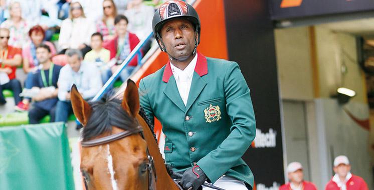 JO 2016-équitation: Ouaddar vise le podium