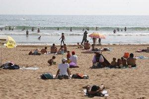 Une journée à la plage de Bouznika