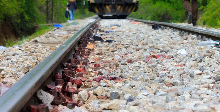 Un homme mortellement fauché par un train à Salé