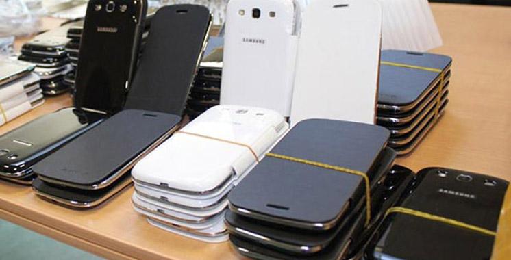 Tanger-Med : Avortement d'une tentative de trafic  de 300 smartphones usagés