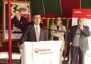 Traitement des eaux usées à Tanger : veolia inaugure la station de pompage Oued Lihoud