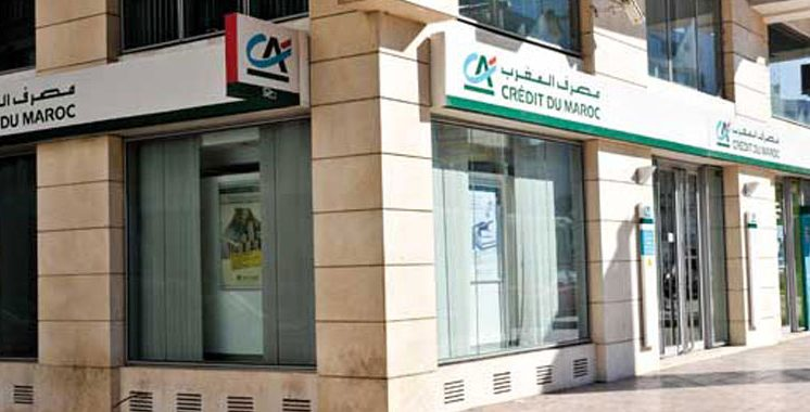 Crédit du Maroc : Baisse de 1,5%  du produit net bancaire