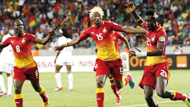 Groupe B : Le Ghana sans forcer, le Mali s est fait peur