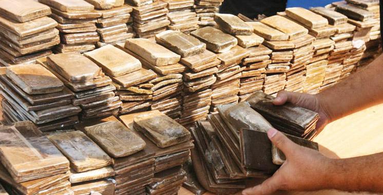 Agadir : Saisie de plus de 3 tonnes de chira en plaquettes
