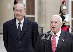 Sharon à Paris : La fin de la tension