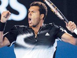 Tsonga  affrontera Nadal en demi-finale