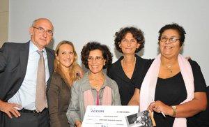 Solidarité féminine reçoit un don de 15.000 euros