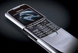 High-tech : Le Nokia 8800 roule pour Aston Martin
